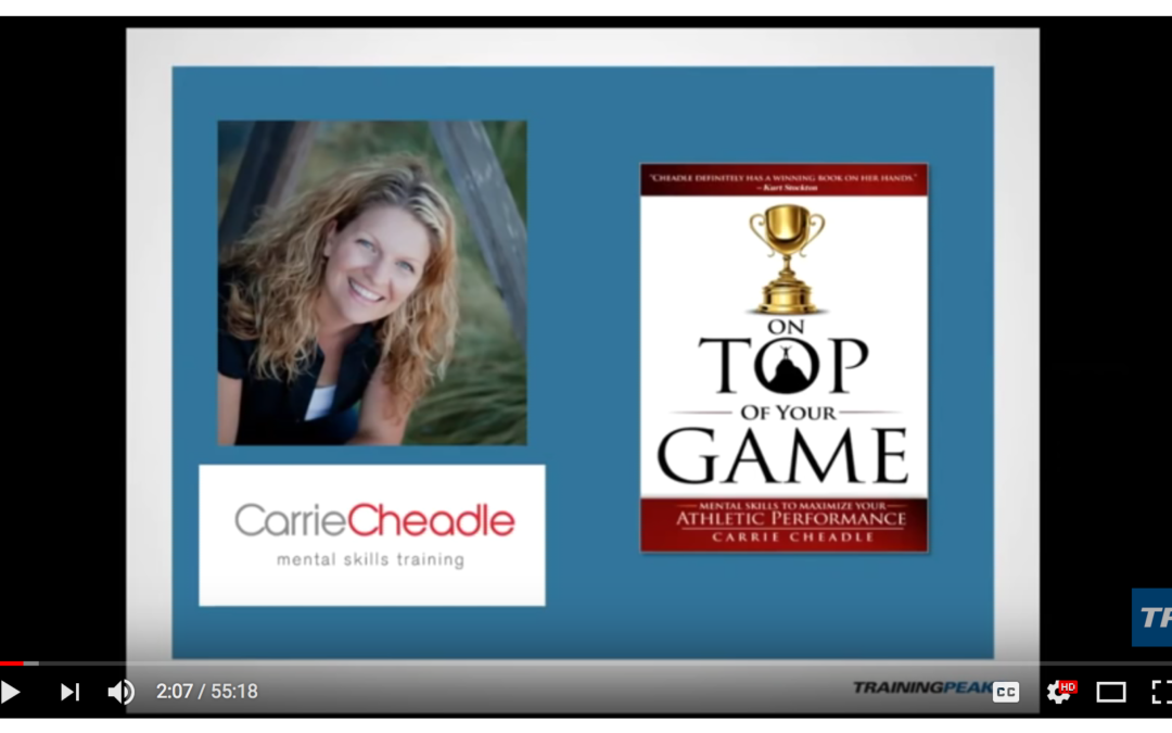 Training Peaks Video: Q&A with Mental Skills Expert, Carrie Jackson